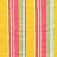 Happy Yellow Stripe  Indoor/Outdoor Rug | Gracious Style