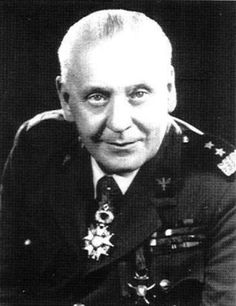 Allied leaders - General Stanisław Maczek (31 March 1892 – 11 December 1994) was a Polish tank commander of World War II, whose division was instrumental in the Allied liberation of France, closing the Falaise pocket, resulting in the destruction of 14 German Wehrmacht and SS divisions.