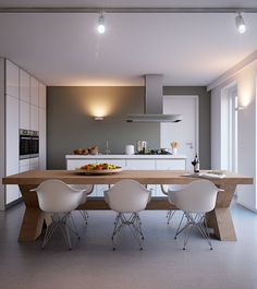 Project Heijmans | De Griffel by George Nijland, via Behance; dining table!!!