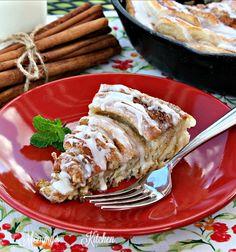 Cinnamon Roll Cake - simplified version!