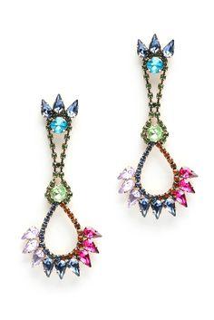 Tova Multi Jewel Drop Earrings | South Moon Under
