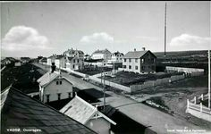 Finnmark fylke Vadsø kommune Oscarsgate 1930-tallet Vadsø bok og papirhandel