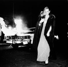 Patti Hansen, Dior, 1976 - Chris Von Wangenheim - fire