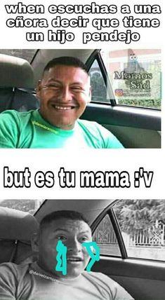 Funny Spanish Memes, Spanish Humor, Funny V, Funny Memes, Funny Shit, Feeling Stupid, Pinterest Memes, Great Memes, Top Memes