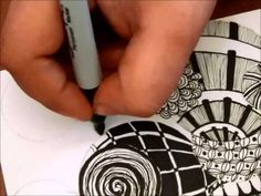 Zentangle Circles--I really want to try this. It doesn't seem too hard, it turns out looking spectacular, and the possibilities are virtually ENDLESS!