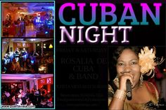 HELLO FRIENDS!!!!. CUBAN PARTY FRIDAY AND SATURDAY AT PUERTA VIEJA RESTAURANT.ROSALIA DE CUBA AND THE BAND. FIESTA CUBANA VIERNES Y SABADOS EN EL RESTAURANTE PUERTA VIEJA CON ROSALIA DE CUBA Y SU BANDA...SALSA, MERENGUE, BACHATA, MUSICA TRADICIONAL CUBANA, LATIN JAZZ. RESERVATIONS: 1043334 EMAIL:puertavieja54@yahoo.com www.puertavieja.com.
