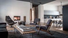 For Interieur | Appartement à la déco intérieure masculine | http://www.for-interieur.fr