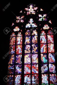 http://www.123rf.com/photo_34306917_glass-window-of-the-cathedral-of-st-vitus-prague-czech-republic.html