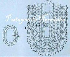Caminho de Mesa em Crochê -  /  Table Runner Crochet - 2