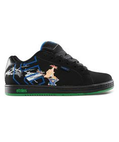 etnies Black & Blue Disney Fader Sneaker by etnies #zulily #zulilyfinds
