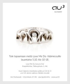 Come and and try out engagement and wedding rings from Goldsmiths. Love Me Do wedding fair in Cable Factory Helsinki saturday october from See you there! Love Me Do, Wedding Fair, Helsinki, Heart Ring, Cable, October, Jewelry Design, Wedding Rings, Engagement Rings