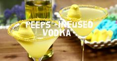 Easter Recipes - How to Make Peeps Infused Vodka