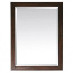 Avanity MADISON - M28 - TO MADISON #Mirror - 28 Inch x 32 Inch Tobacco #bathmirror   http://www.laladecor.com/
