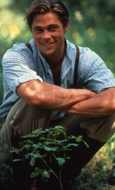 Legends of the Fall....one of THE greatest movies of all time, Brad in his prime