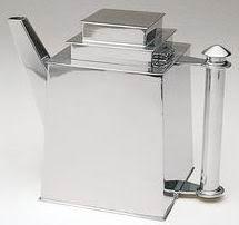 Louis W. Rice, Apolo Skyscraper Teapot, 1927