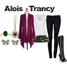 """Alois Trancy from Black Butler"" by animeinspirations on Polyvore"