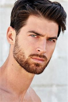 add a beard. Beard Styles For Men, Hair And Beard Styles, Beautiful Men Faces, Gorgeous Men, Hello Gorgeous, Hairy Men, Bearded Men, Blue Eyed Men, Handsome Faces