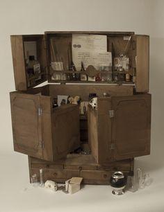 Cabinet de curiosité XL   Petites Curiosités