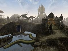 Image result for morrowind architecture art