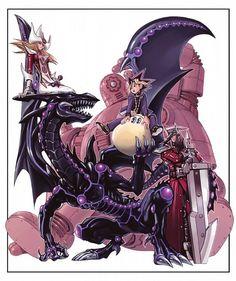 Tags: Anime, Yu-Gi-Oh!, Kazuki Takahashi, Silent Magician, Silent Swordman, Yu-Gi-Oh! Duel Monsters, Mutou Yuugi