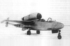 Heinkel He 162 Captured by the soviets & tested