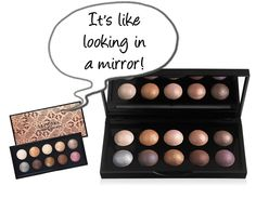 E.L.F. Studio Baked Eyeshadow Palette dupe for Sephora Moonshadow Baked Palette! I love E.L.F makeup!!
