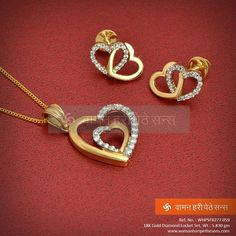 #Charming #beautiful #gorgeous #sparkling #heartshaped #locketset for the lovely queen in you.