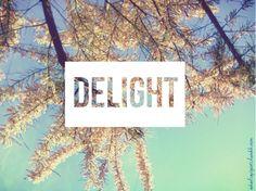 delight / spring sky