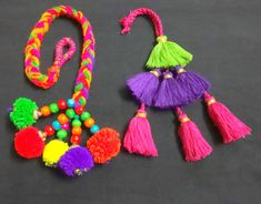 Handmade Tassels Tassel with Metal Bells Purse by uDazzleSupplies Tassel Jewelry, Fabric Jewelry, Tassel Earrings, Pendant Jewelry, Jewellery, Zardozi Embroidery, Hand Embroidery, Jewelry Making Tutorials, Jewelry Making Supplies