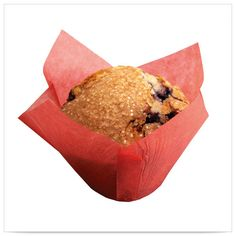 2x1/4 x 2x3/4 x 4 Large Red Tulip Cupcake Wrapper/Case of 2500