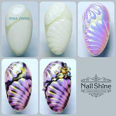 Fall Nail Designs - My Cool Nail Designs Cute Nail Art, Cute Nails, Nail Art Tropical, Beach Nail Art, Sea Nails, American Nails, Flower Nail Art, Halloween Nail Art, Cool Nail Designs