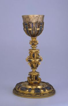 Chalice. Place of creation: Spain. Date: Mid-17th century. Material: silver, bronze and copper.