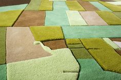 Florian Pucher Turns Aerial Photos into... Landcarpets | Yatzer
