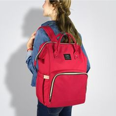 Newchic - Fashion Chic Clothes Online, Discover The Latest Fashion Trends Mobile Large Diaper Bags, Baby Diaper Bags, Large Bags, Mothers Bag, Nappy Changing Bags, Diaper Bag Backpack, Baby Design, Travel Bag, Fashion Backpack