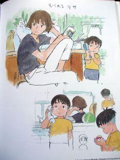 Hayao Miyazaki, Character Art, Character Concept, Character Design, Character Illustration, Illustration Art, Manga Art, Anime Art, Personajes Studio Ghibli