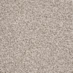 Carpet Sample-Leading Edge - Color Seashell Texture 8 in. x 8 in.