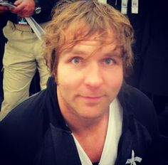 very sexy blue eyes is turn on for me and dean ambrose rules the whole wide world and the sexyest man alive and my future husband
