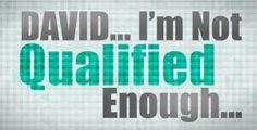 I'm Not Qualified Enough with Pastor Matt Keller