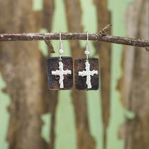 Rustic Faith Earrings