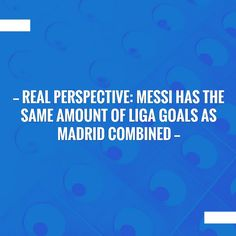 Check out my new post! Real perspective: Messi has the same amount of Liga goals as Madrid combined :) http://www.vkeynation.com/2017/09/real-perspective-messi-has-same-amount.html?utm_campaign=crowdfire&utm_content=crowdfire&utm_medium=social&utm_source=pinterest