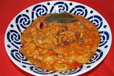 receta de arroz con pulpo