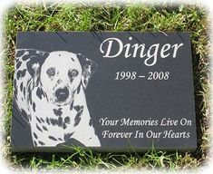 Used this company for my last dog's memorial stone - beautiful work!  Pet Urns ,Pet Grave Markers, Pet Memorial Stones , Pet Headstones | 4everinmyheart