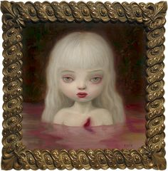 Wound by Mark Ryden from his Blood show (2003).