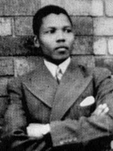 Look how young! Nelson Mandela