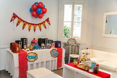 Minions Super Heroes Birthday Party Ideas | Photo 1 of 28