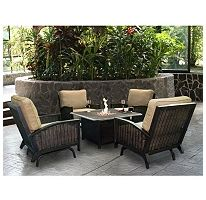 BJ's Wholesale Club ~ Living Home Outdoors Caminetto 5-Piece Gas ...