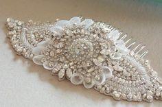 Bridal headpiece - Keela comb from MillieIcaro
