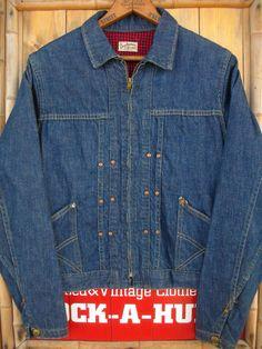 Vintage Denim, Vintage Clothing, Vintage Outfits, Lined Denim Jacket, Vest Jacket, Workwear Overalls, Denim Button Up, Button Up Shirts, Denim Outfit