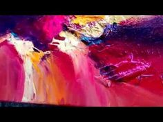 ▶ Dan Bunea's large living abstract paintings