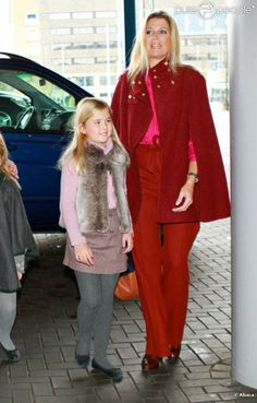 ♥•✿•QueenMaxima•✿•♥...Queen Maxima of Netherlands and Princess Amalia